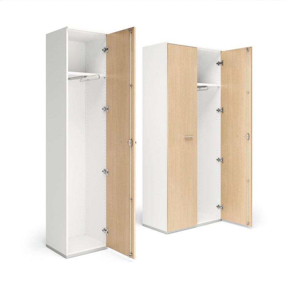Armadi in legno melaminico per l 39 ufficio moderno compra for Armadi design online